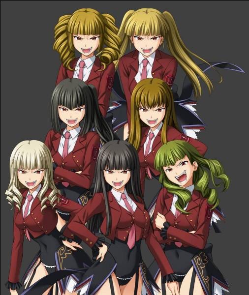 Ces sœurs représentent toutes un des sept péchés capitaux. Elles sont au service de dame Béatrice qui peut les invoquer. Dans quel manga peut-on les voir ?