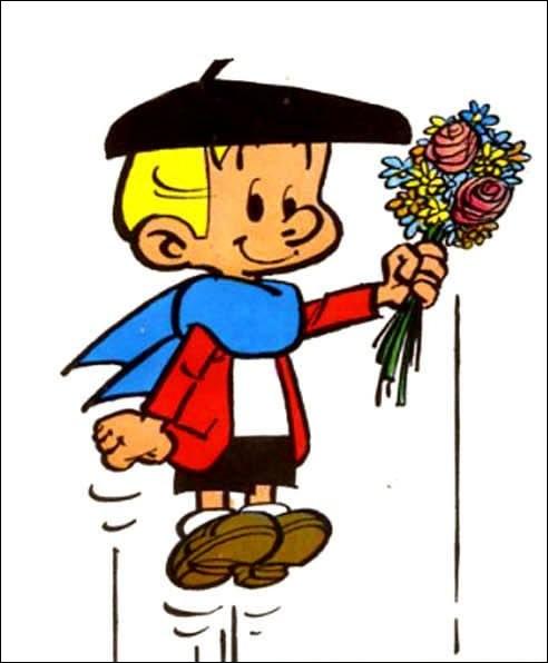 Benoît Brisefer, personnage de bandes dessinées doté d'une force extraordinaire, a été créé par Hergé.