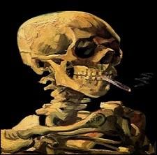 Le temps a passé, reste la fumée. Qui a réalisé ce tableau ?