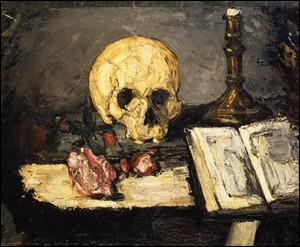 Voici un crâne et un chandelier selon l'artiste que l'on considère comme le précurseur du cubisme.