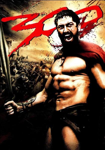 De quelle ville grecque viennent les 300 intrépides guerriers qui vont affronter toute l'armée perse ?