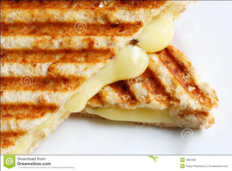 Aimes-tu les sandwichs grillés au fromage ?