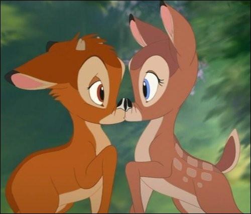 Si je vous dis Bambi, retrouvez son amour !
