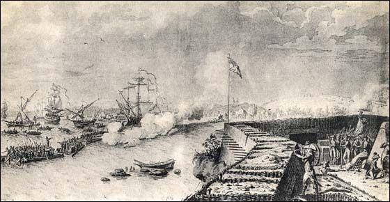 En 1793, cette ville est livrée par les royalistes aux puissances coalisées en guerre contre la République française. Après trois mois de siège par les troupes françaises dans lesquelles s'illustre le jeune capitaine Bonaparte, la ville est reprise. De quelle ville s'agit-il ?