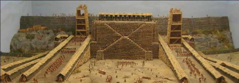 Cette importante cité gauloise est assiégée par César en 52 avant J-C; lorsque les Romains prennent la ville, ils massacrent la quasi totalité de la population. Quelle est cette cité ?