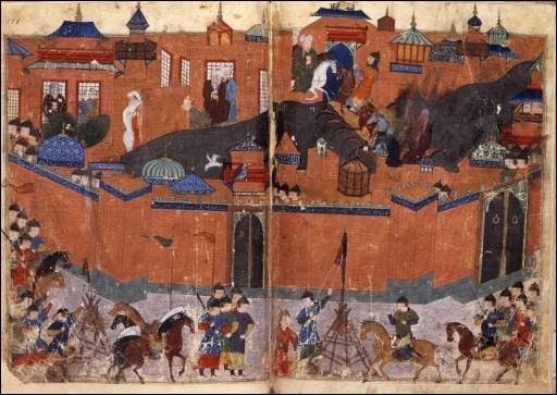 Bagdad est prise en 1258 après un siège de deux semaines. La population est massacrée. Qui a pris la ville ?