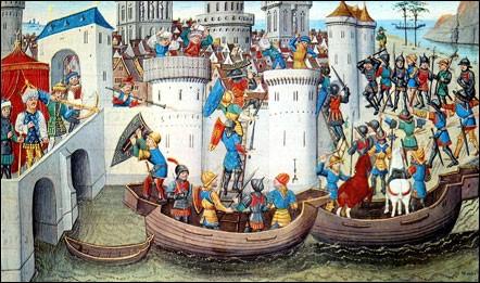 Constantinople a été prise en avril 1204. Par qui était-elle assiégée depuis juillet de l'année précédente ?