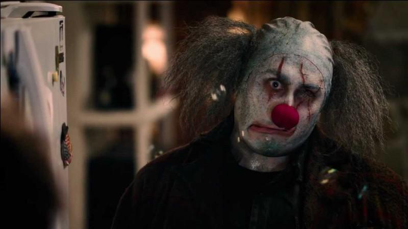 """Dans le film """"Stitches"""", le clown tue un adolescent."""