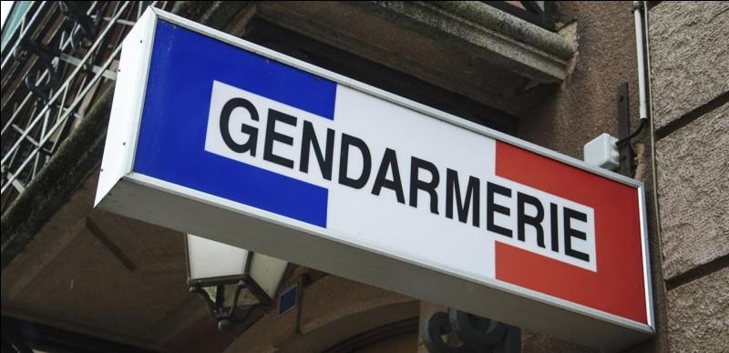 """Quand est apparu le nom """"gendarmerie nationale"""" ?"""