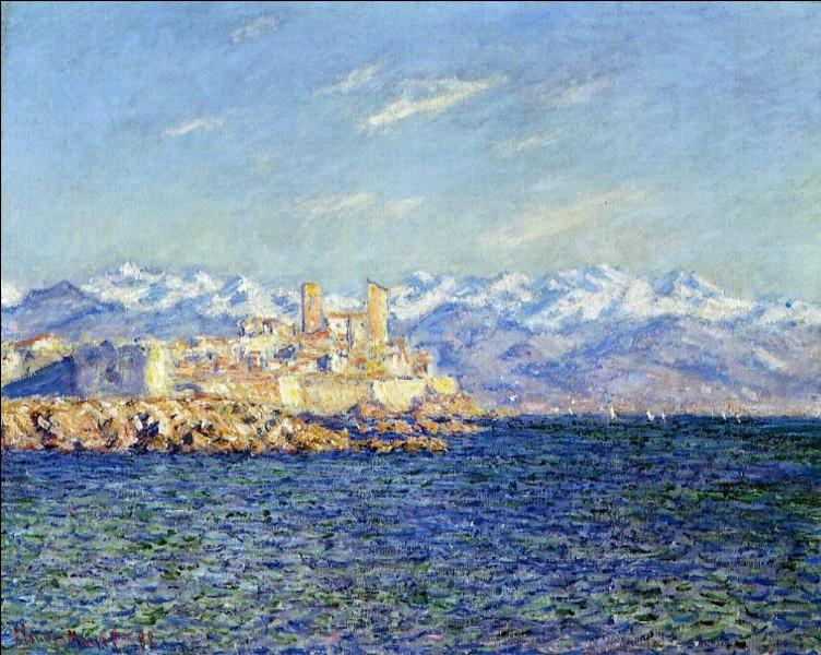 """Qui a peint """"Antibes, l'après-midi"""" ?"""