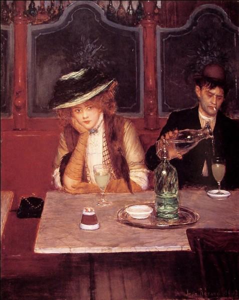 """Qui a représenté """"La buveuse d'absinthe"""" ?"""