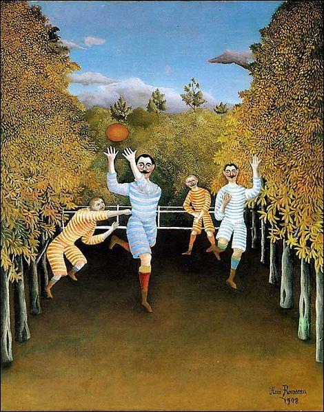 Quel est le titre de ce tableau de Rousseau ?