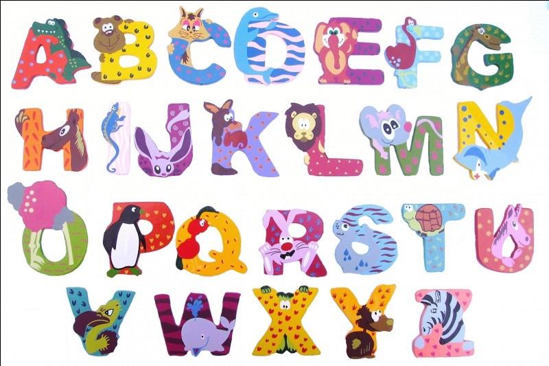 Quelle lettre y a-t-il dans ton nom/prénom ?