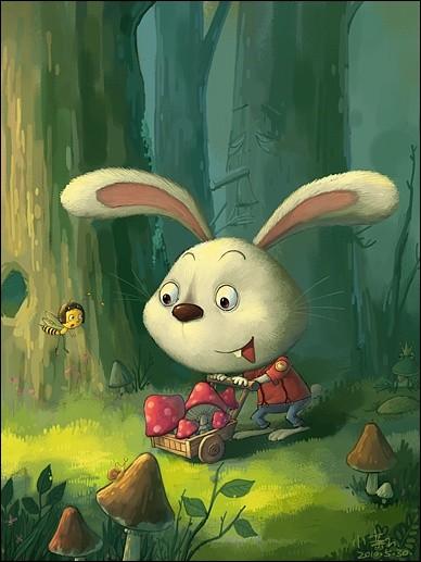 Quant à lui, il a de trop longues oreilles pour être un lapin ! Je parie que c'est un...