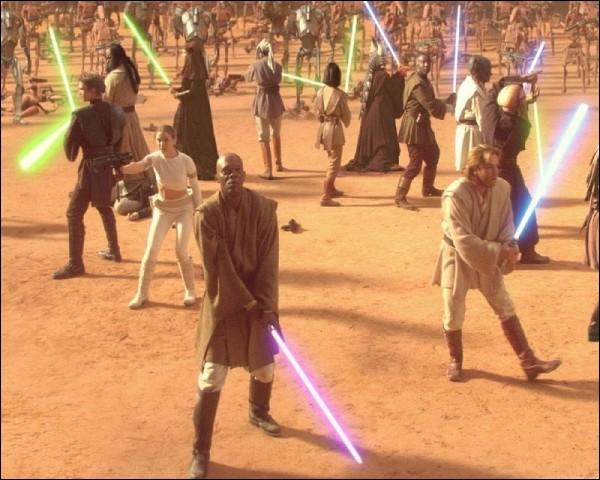 Quel Jedi a survécu à la fameuse bataille de Géonosis en -22 ABY (épisode 2) ?