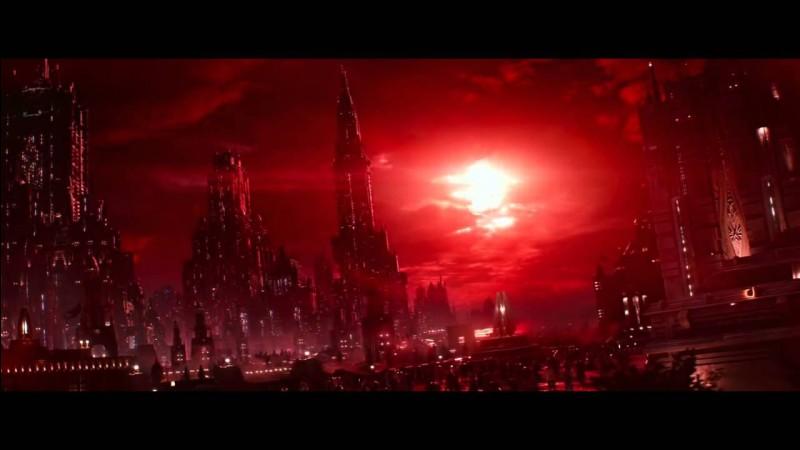 Comment s'appelle la planète, capitale provisoire de la République, détruite par le 1er Ordre avec la base Starkiller au cours de l'épisode 7 ?