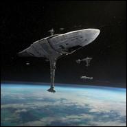 Quel est le nom du vaisseau de l'Amiral Raddus lors de la bataille de Scarif dans Rogue One ?