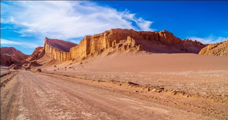 Situé au Chili, quel est le désert le plus sec du monde ?