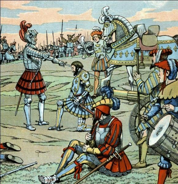 En revenant en classe, vous faites histoire. Mais ton voisin de table n'arrive pas à se souvenir de la date de la bataille de Marignan. Que lui dis-tu ?