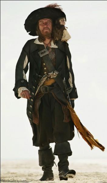 Quel était le célèbre pirate de l'époque ayant inspiré le personnage d'Hector Barbossa ?