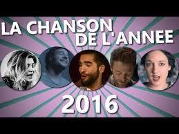 Chansons francophones de l'année 2016