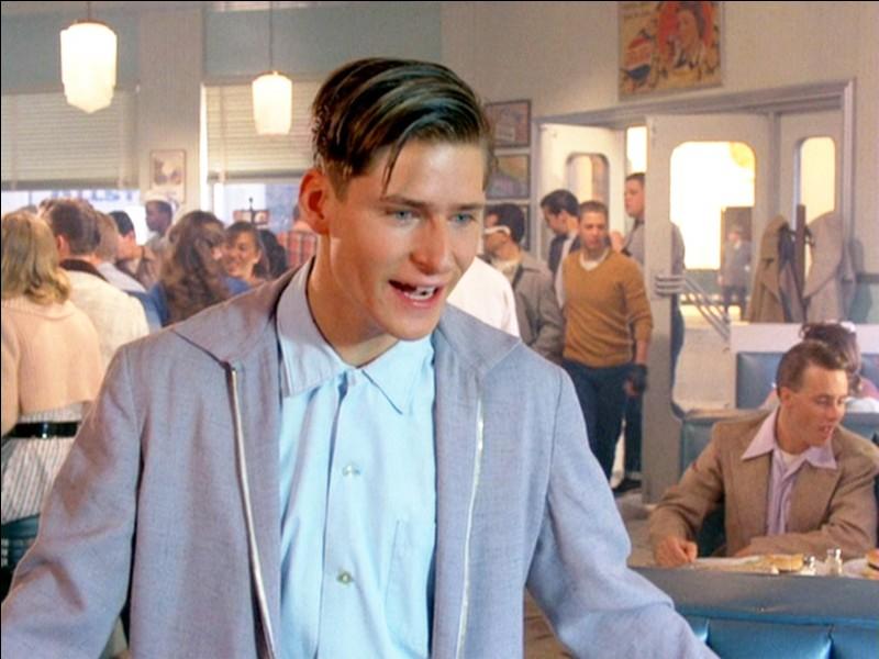 En 1955, que commande George (le père de Marty) au café ?