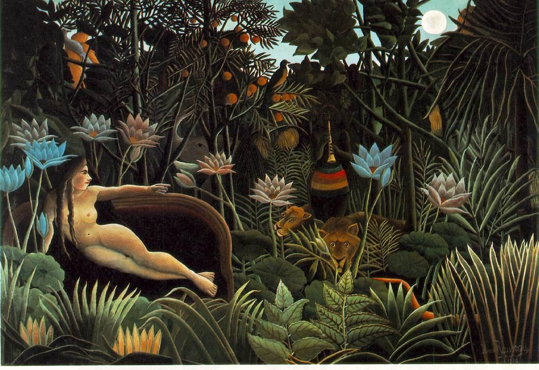 Paysages dans la forêt