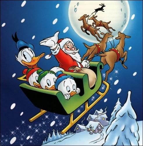 Permettez que je profite de Donald pour vous souhaiter le plus joyeux et agréable Noël possible ainsi qu'une belle année remplie de beaucoup de beaux quiz !