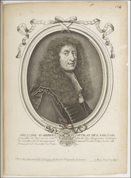 Sous le règne du Roi-Soleil, il est considéré comme le père de la police judiciaire, c'est...