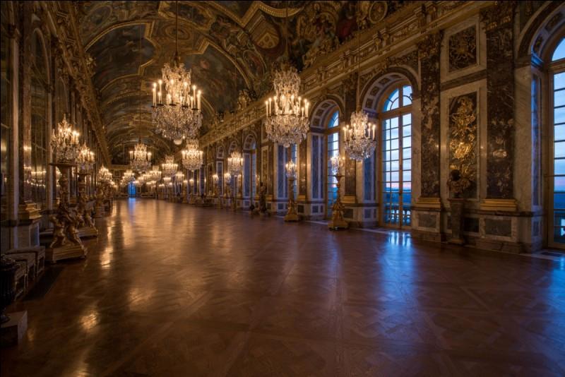 """Comment s'appelait la """"galerie des Glaces"""" au temps du Roi-Soleil ?"""