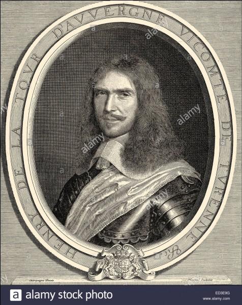 Il fut le grand homme de guerre de Louis XIV. On l'enterra dans la basilique Saint-Denis après sa mort : honneur posthume au...