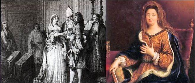 Louis XIV épousa secrètement Madame de Maintenon.quand cela était-ce. En quelle année et quel jour ?
