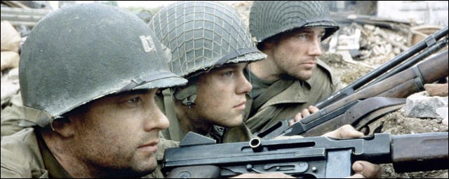 """Dans """"il faut sauver le soldat Ryan"""", où se déroule la grande scène de bataille du début du film ?"""