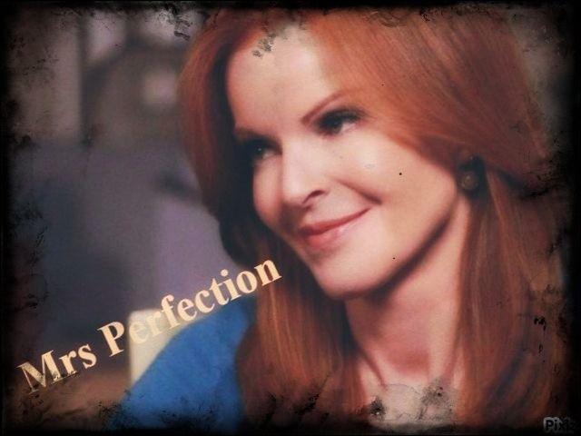 """Voilà Bree, que je surnomme affectueusement """"Mrs Perfection"""". Combien de fois s'est-elle mariée ?"""
