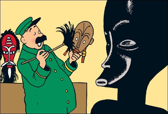 """Comment se prénomme le gardien du musée, au début de """"L'Oreille cassée"""" ?"""