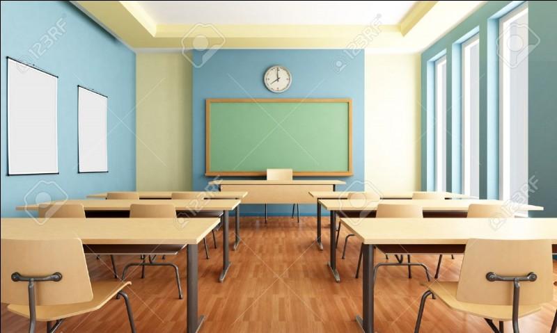 En quelle classe es-tu ?