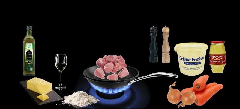 Quel plat a été réalisé avec ces ingrédients ?