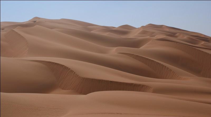 Quel est le nom de la science qui désigne l'étude des déserts ?