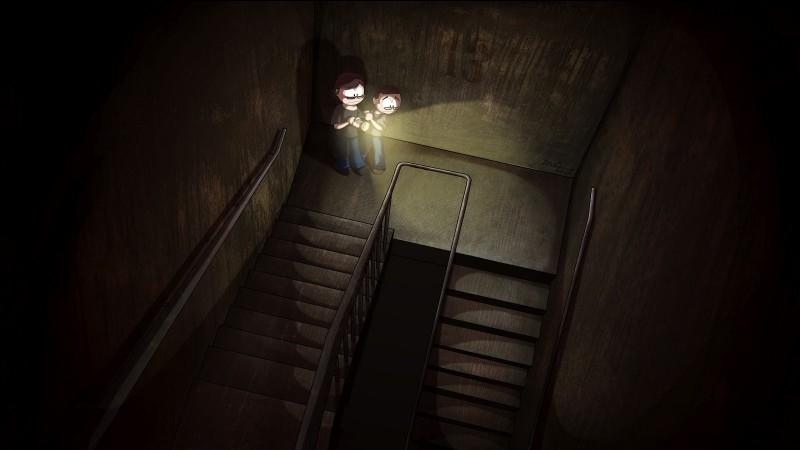 Qui est la cage d'escalier ?
