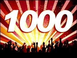 Voilà, c'est le 1000e quiz ! Comment écrit-on ce nombre en chiffres romains ?