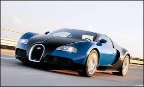 """Automobile : Quelle est la marque de cette magnifique voiture appelée """"Veyron"""" ?"""