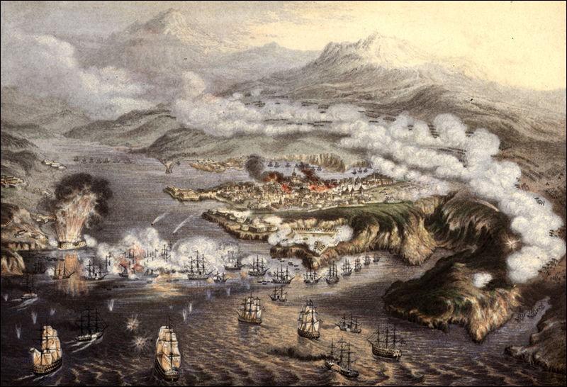 Quand les Français et les Anglais ont-ils assiégé Sébastopol ?