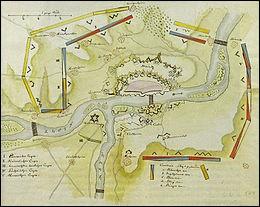 Cette ville du Rhin, tenue par l'armée française, assiégée et bombardée par les Autrichiens et les Prussiens, capitule le 23 juillet 1793. De quelle ville s'agit-il ?