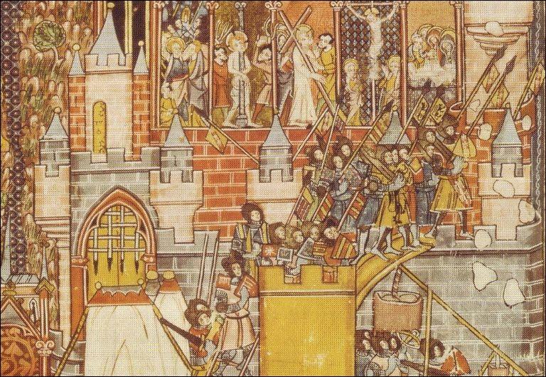 Jérusalem a été l'enjeu et le théâtre de plusieurs sièges. Quel grand conquérant s'en empare en 1187 ?