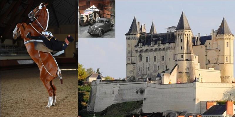 Dans cette ville, vous trouverez un organisme d'origine militaire devenu, en quelque sorte, sportif, d'un musée regroupant des objets apparus dès la 1e Guerre mondiale… et un château bâti à partir du Xe siècle.Où sommes-nous ?