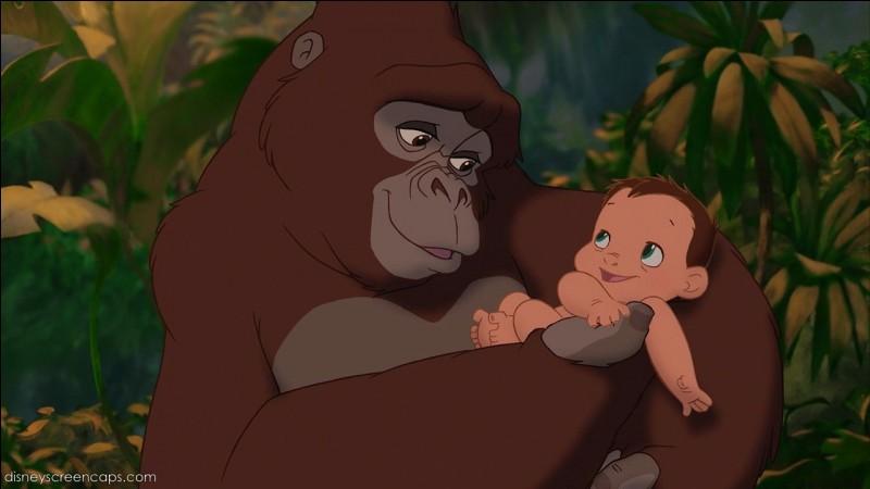 Comment se prénomme la maman de Tarzan ?