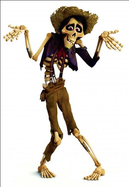 """Comment se prénomme le nouveau personnage d'animation Disney """"Coco"""" (sorti le 29 novembre 2017) ? (celui de l'image)"""