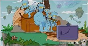 Quelle est la couleur de peau des Simpson ?