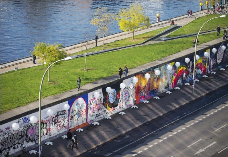 En quelle année le mur de Berlin a-t-il chuté ?