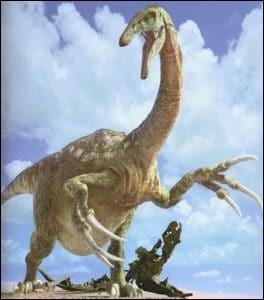 Quelle taille font les griffes du Therizinosaurus ?